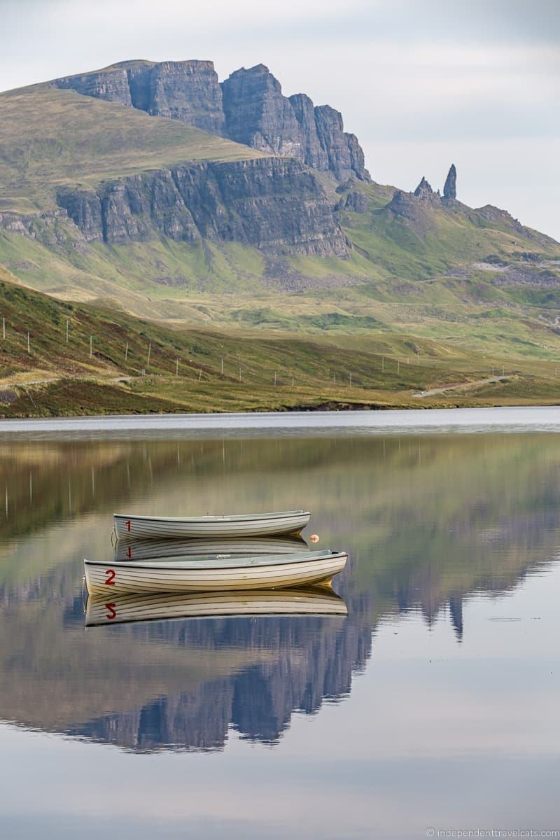 Loch Fada Isle of Skye and Scottish Highlands itinerary trip Scotland