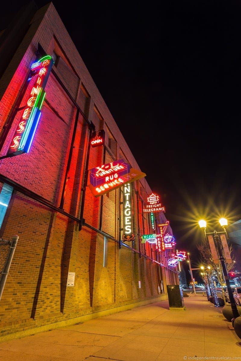Neon Sign Museum things to do in Edmonton Alberta Yeg guide