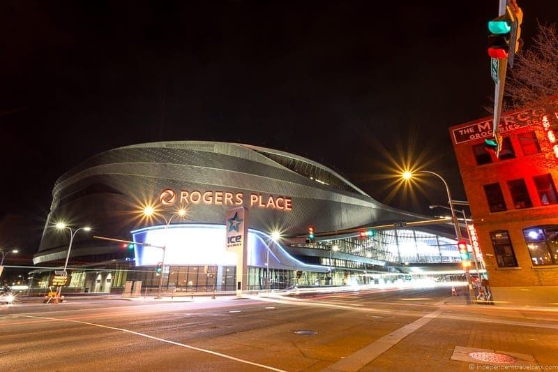 Rogers Place things to do in Edmonton Alberta Yeg guide