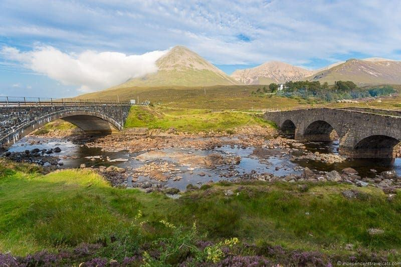 Cuillins Isle of Skye and Scottish Highlands itinerary trip Scotland