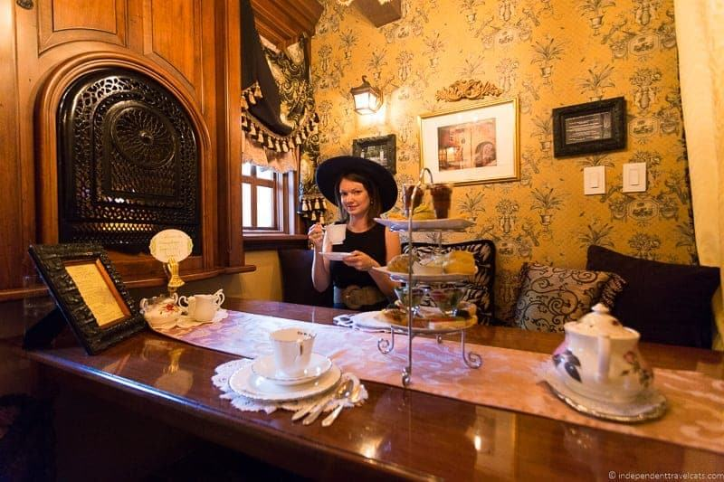 St. James Tea Room afternoon tea in Albuquerque New Mexico