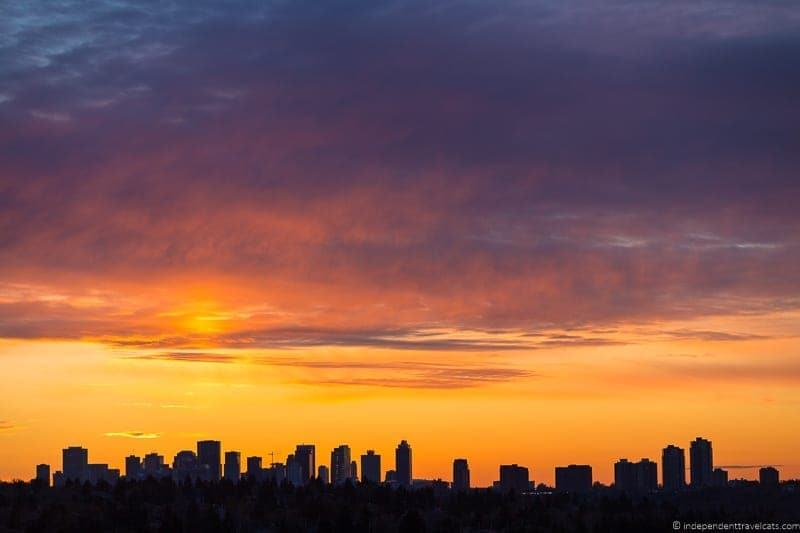 sunset spots things to do in Edmonton Alberta Yeg guide
