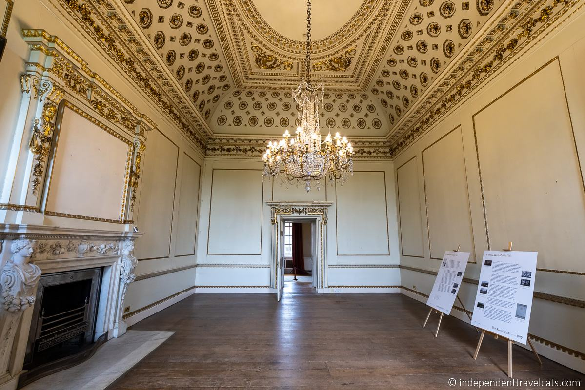 Wentworth Woodhouse Van Dyck Room state rooms