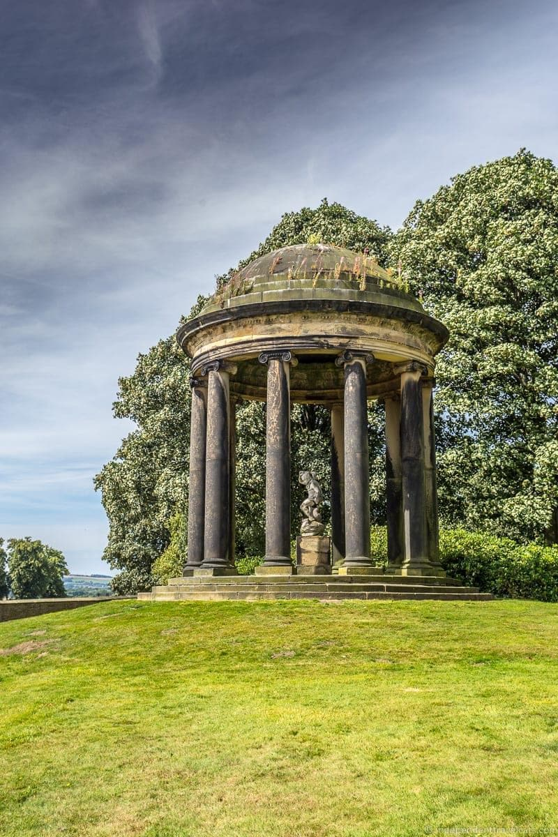 visit Wentworth Woodhouse Doric folly garden tour