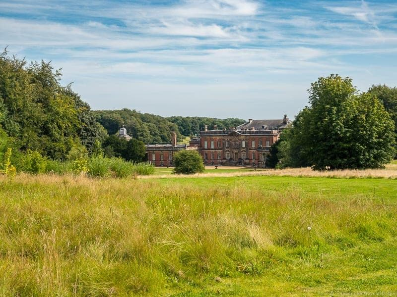 visit Wentworth Woodhouse tour West side wing