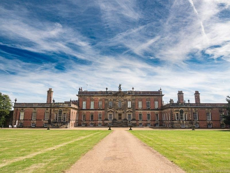 visit Wentworth Woodhouse tour West side