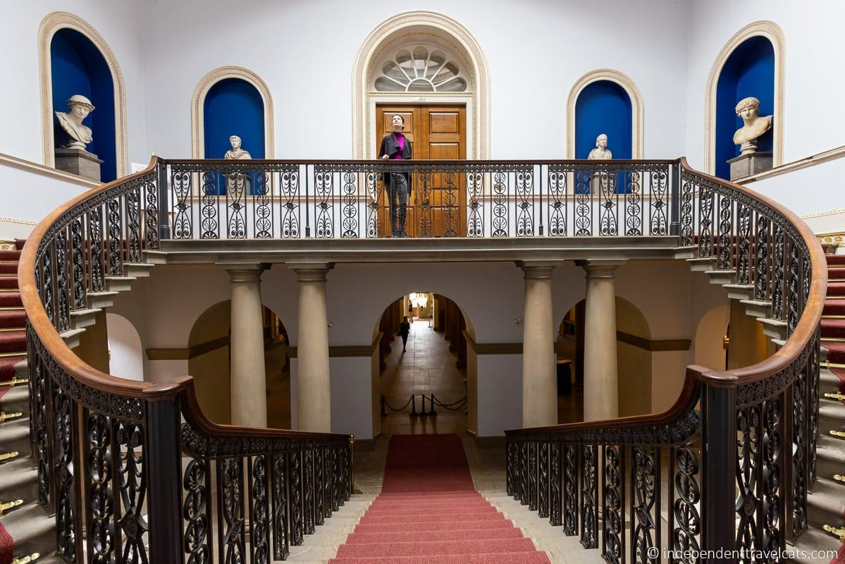 main staircase Wentworth Woodhouse