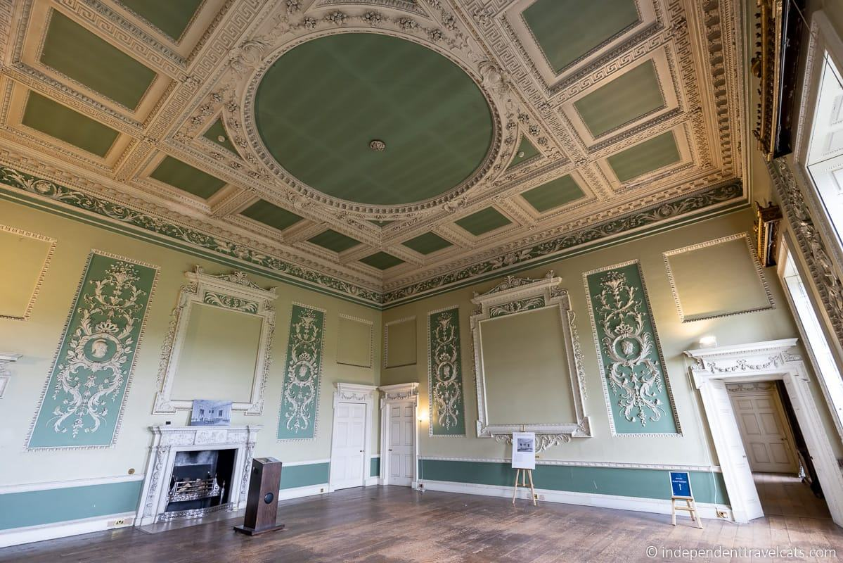 Wentworth Woodhouse State Dining Room green room