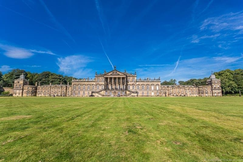 visit Wentworth Woodhouse tour Palladian east front