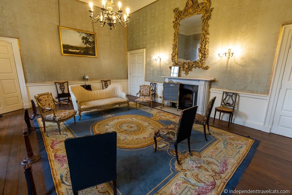 Duchess of Kent state bedroom Wentworth Woodhouse