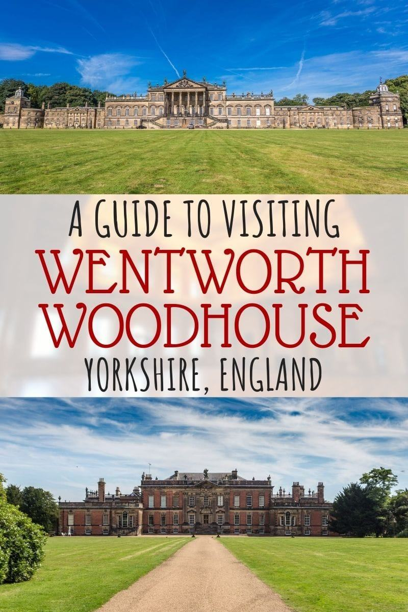 A complete guide to visiting Wentworth Woodhouse, the largest private house in England and one of the largest in Europe. We'll share the intriguing history of Wentworth House, how you can schedule a visit, and share our own recent tour experience! Wentworth Woodhouse is a great place to add to your Yorkshire itinerary! #WenttworthWoodhouse #Yorkshire #WentworthHouse #Wentwortht #historichomes #travel #countryhouse #England