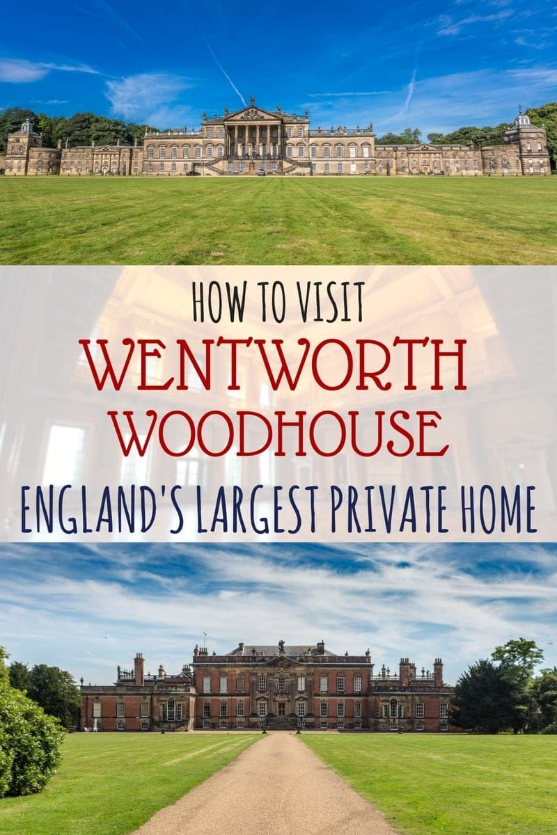 A guide to visit Wentworth Woodhouse, the largest private house in England and one of the largest in Europe. We'll share the intriguing history of the house, how you can schedule a visit, and share our own recent tour experience! A great place to add to your Yorkshire itinerary!