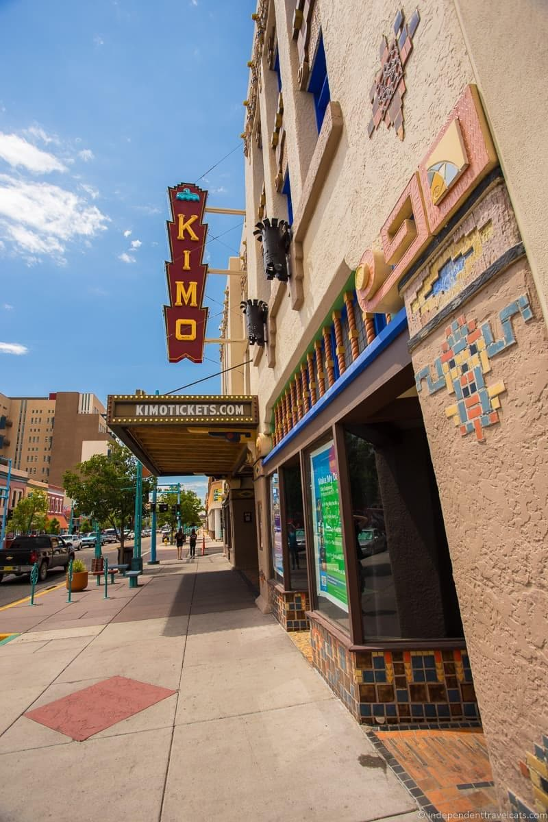 KiMo Theater Route 66 in Albuquerque New Mexico highlights