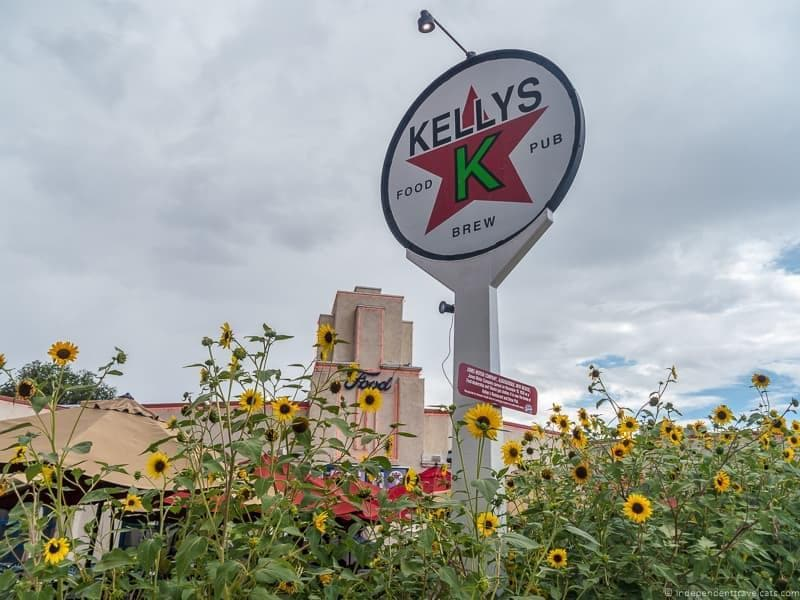 Kelly's Brewpub Route 66 in Albuquerque New Mexico highlights
