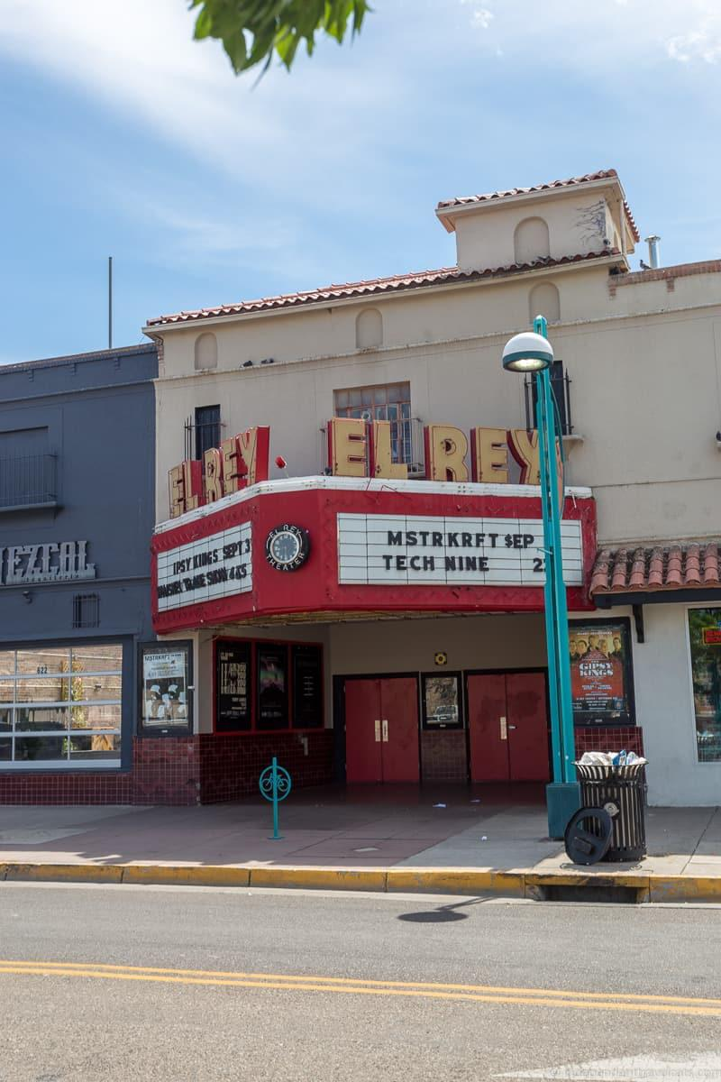 El Rey Theater Route 66 in Albuquerque New Mexico highlights