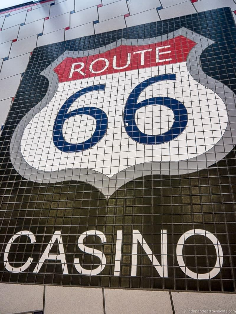 Route 66 Casino Route 66 in Albuquerque New Mexico highlights