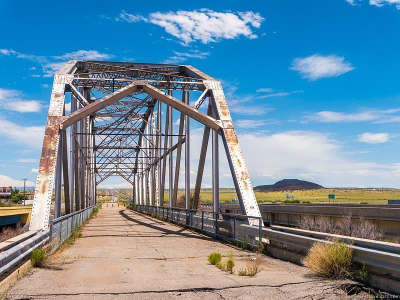Rio Puerco Bridge Route 66 in Albuquerque New Mexico highlights