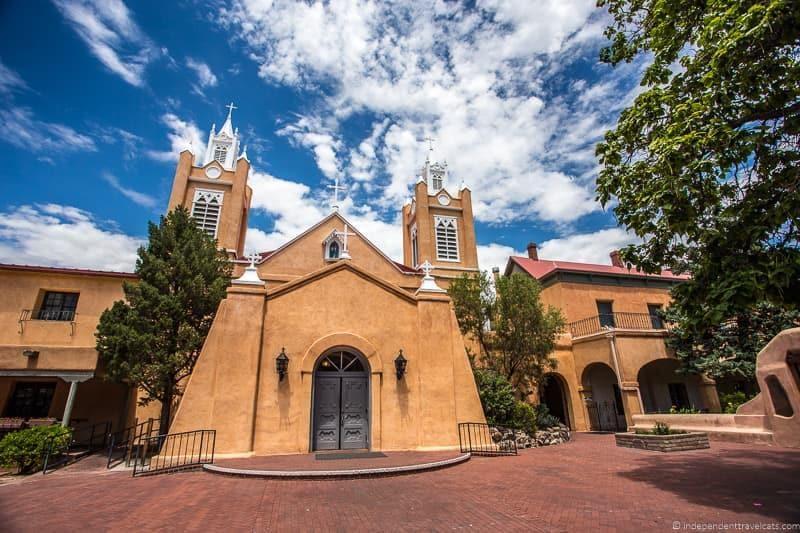San Felipe de Neri Church Old Town Albuquerque