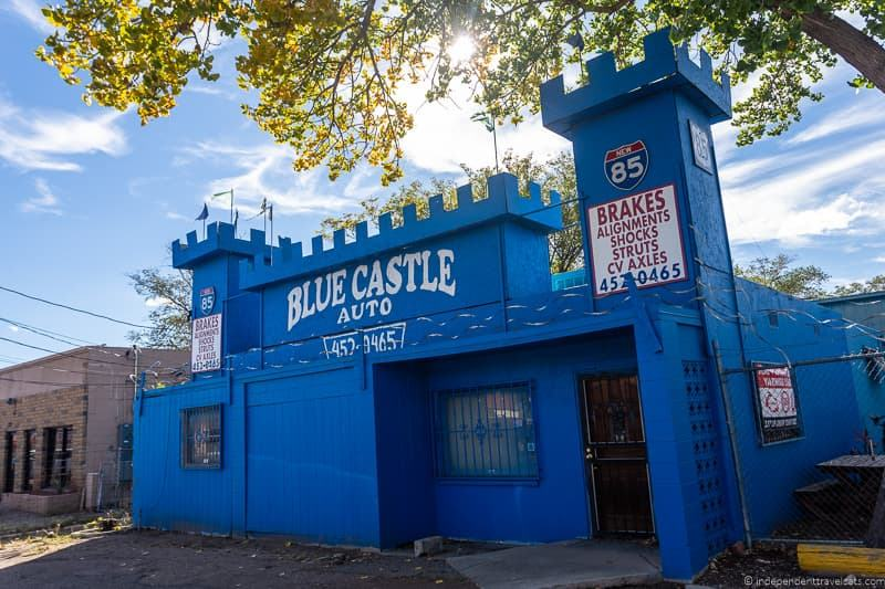 Blue Castle Auto Route 66 in Albuquerque New Mexico attractions