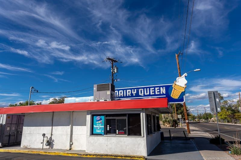 Dairy Queen Route 66 in Albuquerque New Mexico attractions