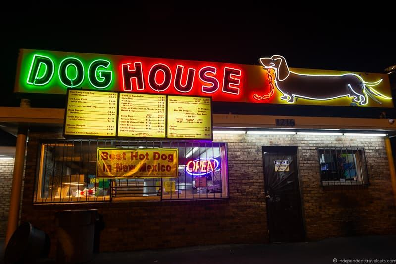 Dog House Route 66 in Albuquerque New Mexico attractions