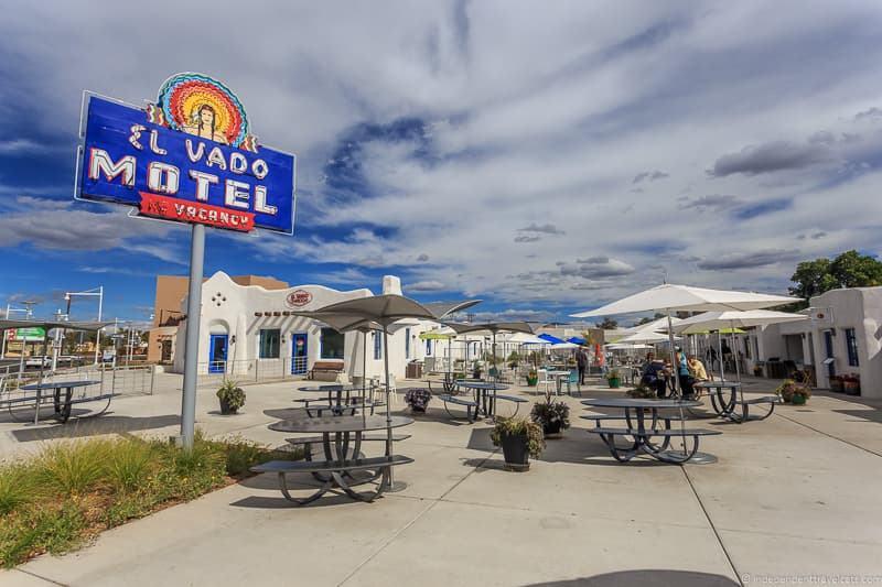 El Vado Motel Route 66 in Albuquerque New Mexico lodging