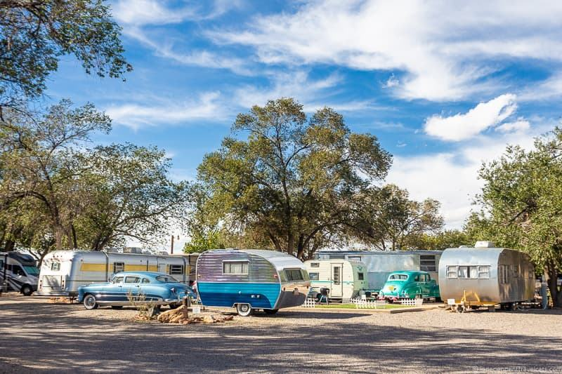 Enchanted Trails RV Park Route 66 in Albuquerque New Mexico attractions