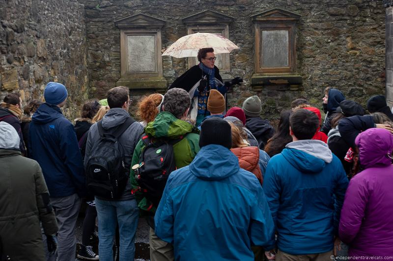 Potter Trail free Harry Potter walking tour Edinburgh