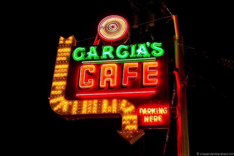 Garcias Cafe Route 66 in Albuquerque New Mexico attractions