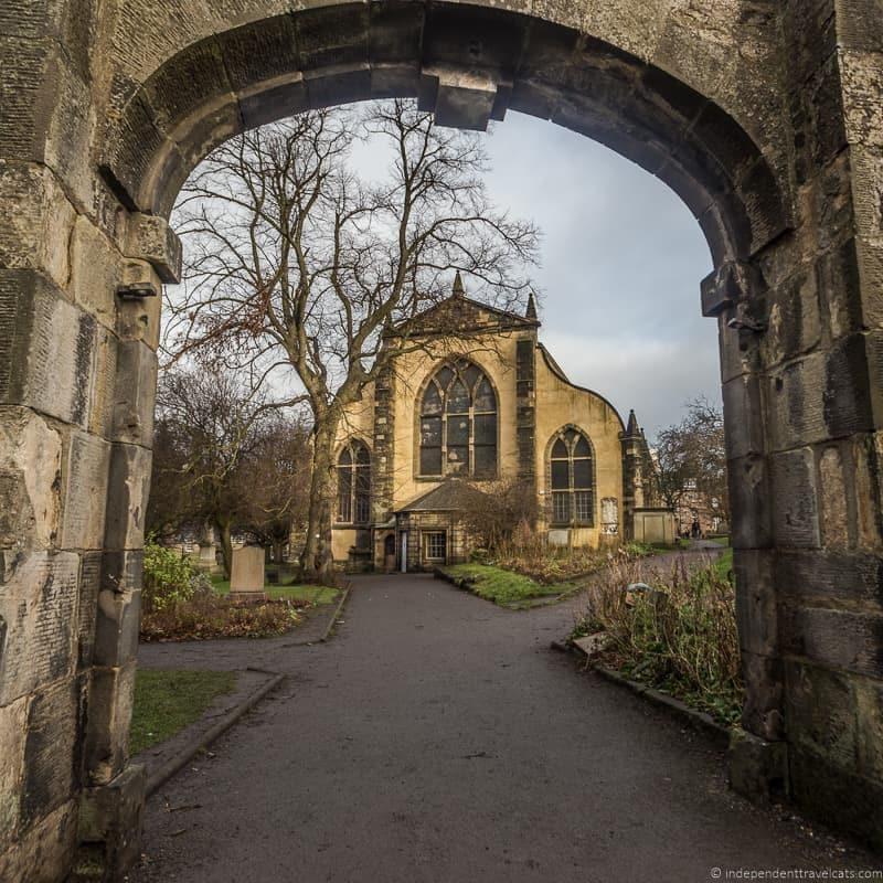 Greyfriars Kirkyard graveyard Harry Potter sites in Edinburgh Scotland J.K. Rowling