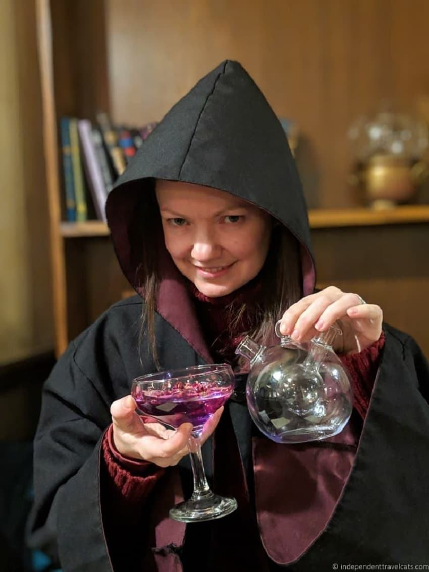 Department of Magic Edinburgh Potions Masterclass cocktails Harry Potter themed things in Edinburgh Scotland