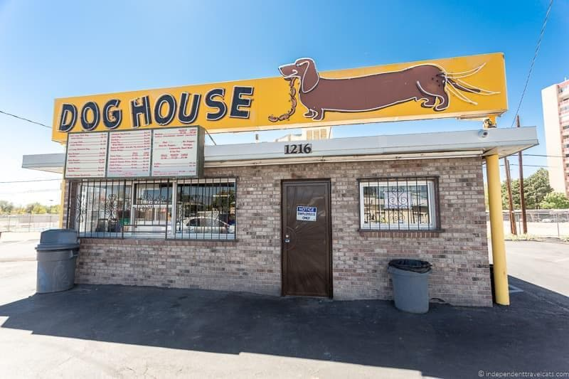Dog House Drive In Route 66 in Albuquerque New Mexico highlights