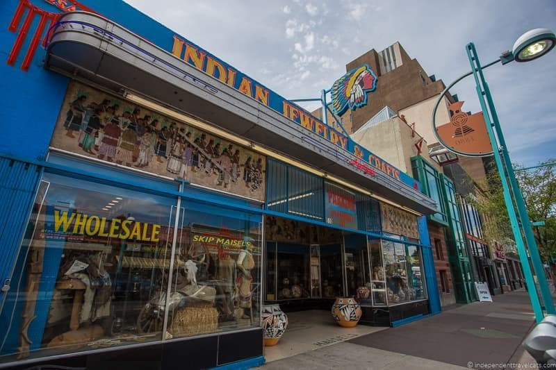 Skip Maisel's Route 66 in Albuquerque New Mexico highlights