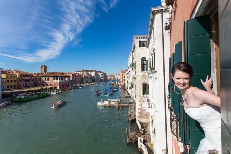 wedding in Venice wedding day Jessica Norah