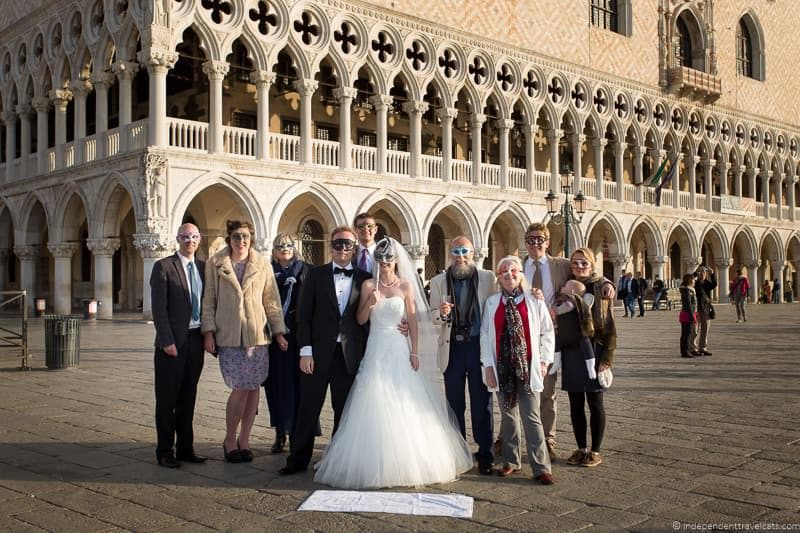 wedding in Venice wedding day Jessica Norah Laurence Norah