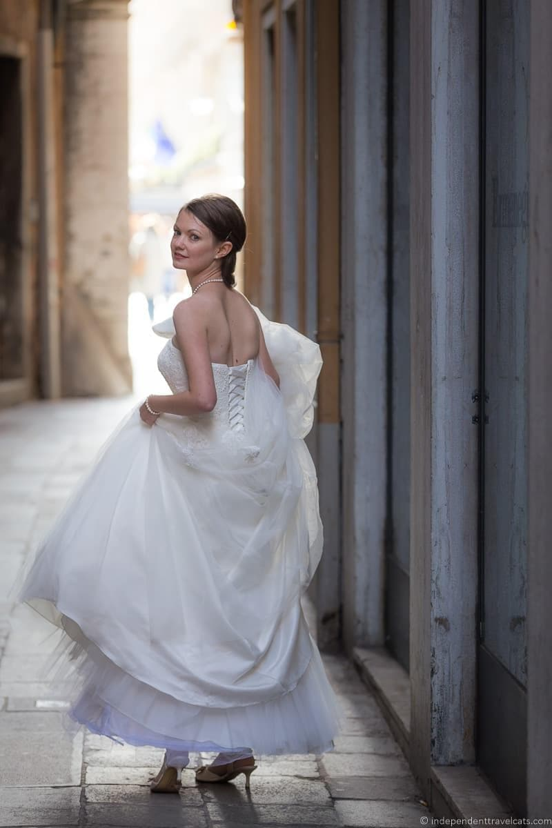 wedding in Venice wedding day Jessica Norah