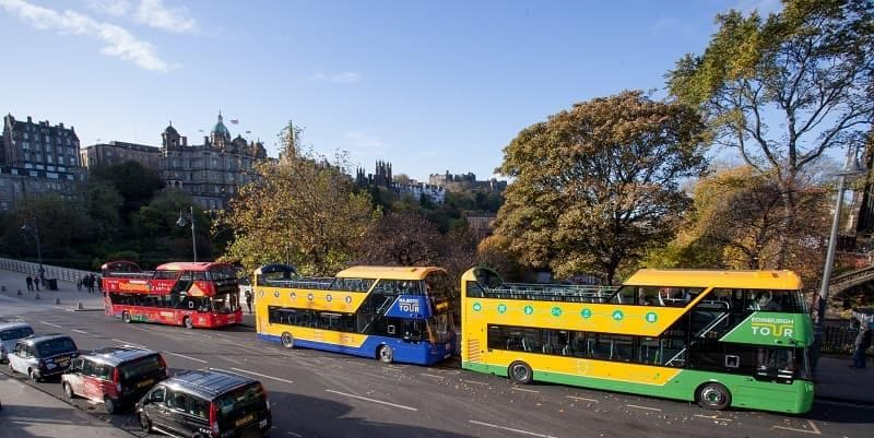 Tourist sightseeing Bus Royal Edinburgh Ticket
