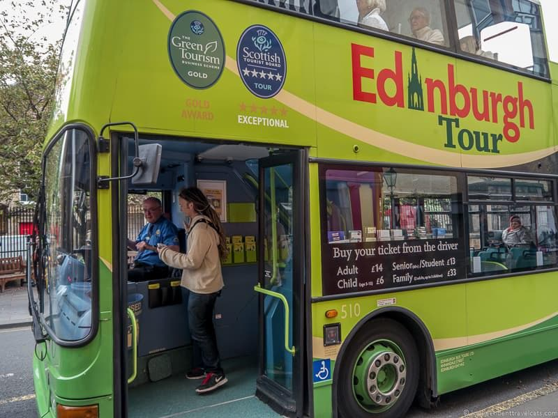 Tourist Bus Royal Edinburgh Ticket