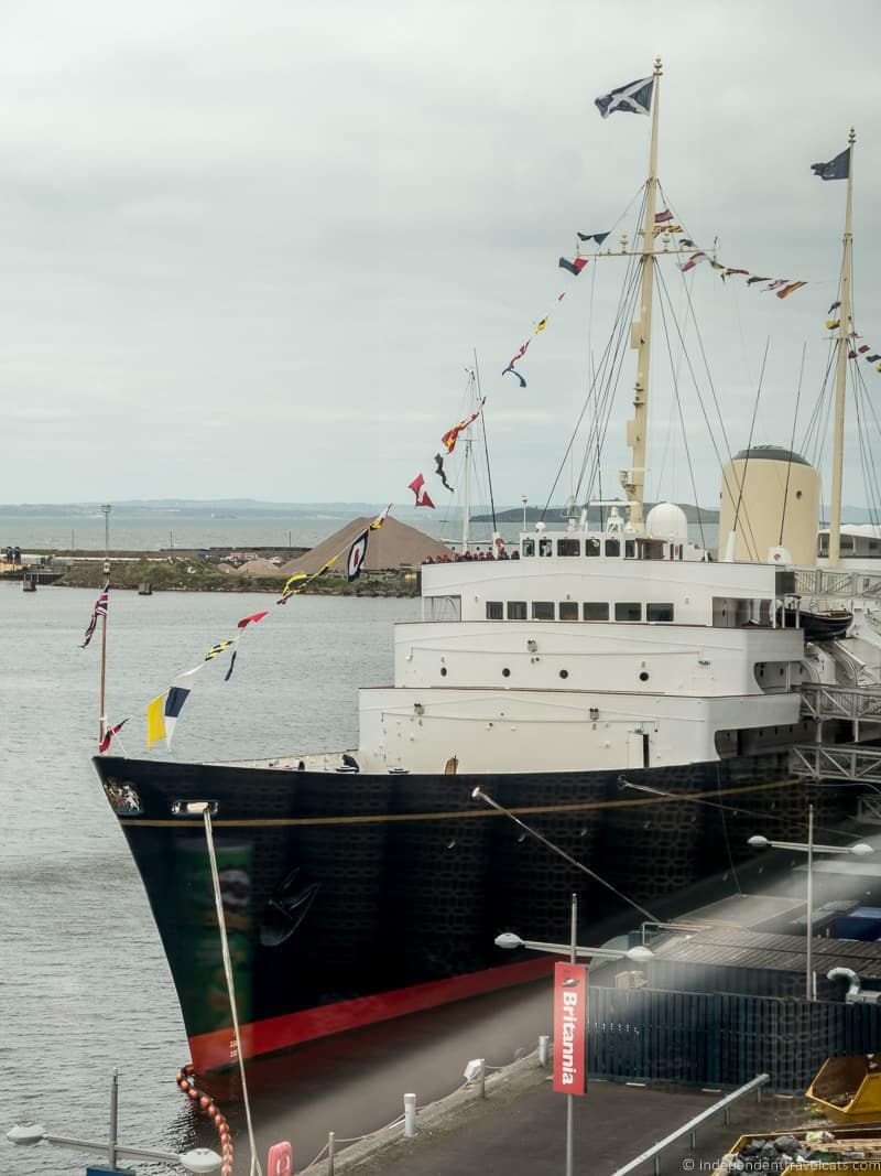 Royal Yacht Britannia Royal Edinburgh Ticket