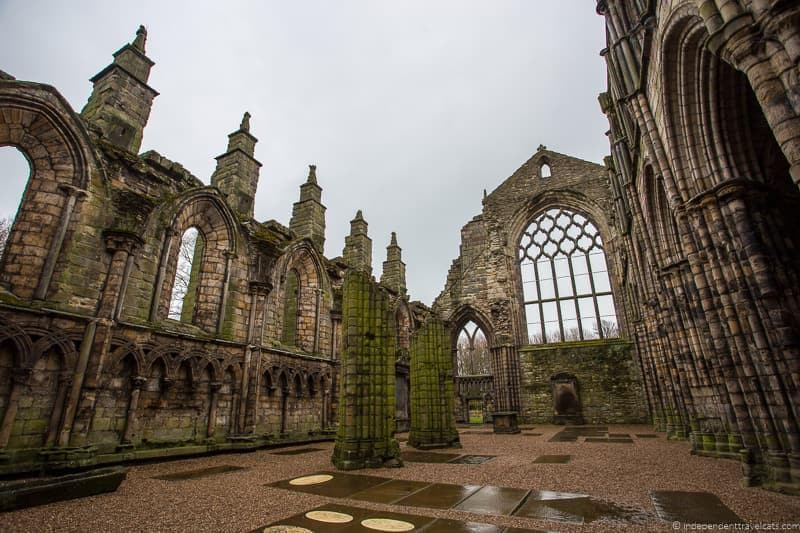 Holyrood Palace Abbey Royal Edinburgh Ticket