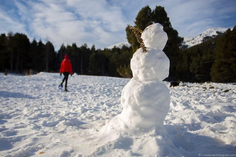 snowman Ski Holidays for Non-Skiers Things to Do at a Ski Resort if you Don't Ski