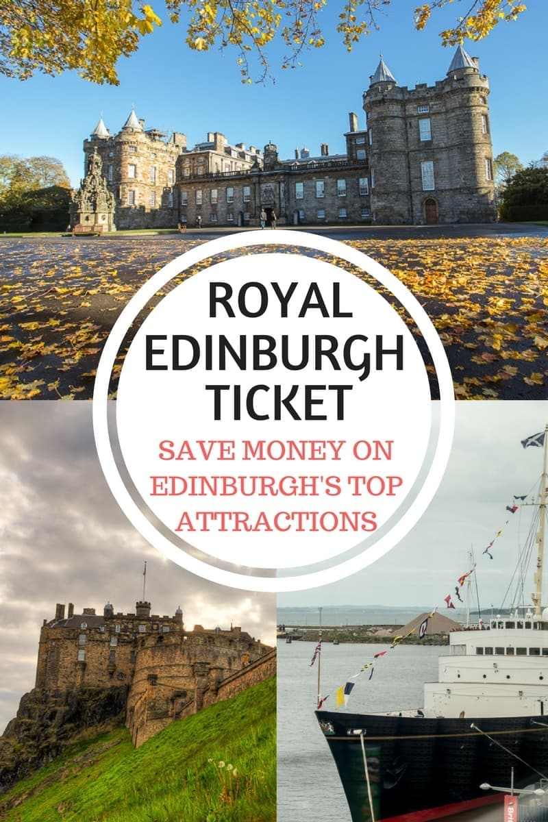 Want to save money on some of Edinburgh's top attractions? The Royal Edinburgh Ticket can save you up to 25% on entrance tickets and bus rides - read the article for a full review!