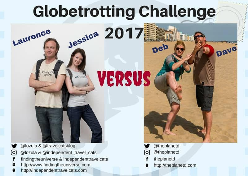 Globetrotting Challenge 2017 travel race Turkey to Tuscany