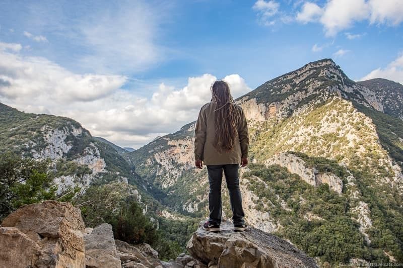 hiking Alta Garrotxa things to do in the Spanish Pyrenees in Catalonia Spain