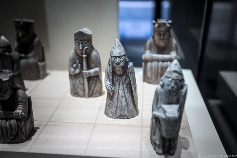Lewis Chessmen Edinburgh Museum of Scotland Harry Potter