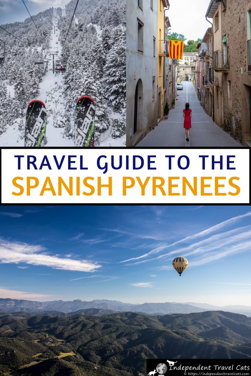 A comprehensive travel guide of where to go, what to eat, and things to do in the Spanish Pyrenees of Catalona, a lesser known region of Spain. Region is close to both Barcelona and Girona. #Pyrenees #Girona #SpanishPyrenees #Catalonia #Cataluyna #travel #Garrotxa #CostaBrava #Spain #Barcelonadaytrip #Barcelona