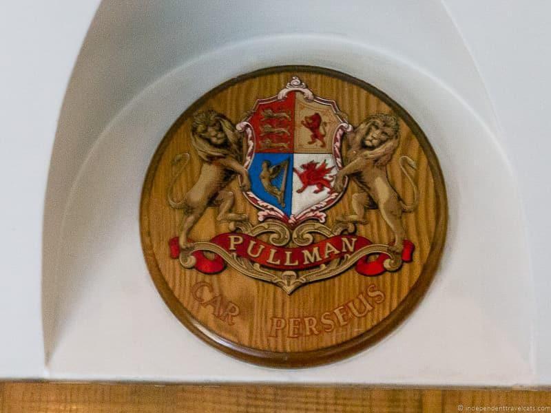 British Pullman train Perseus car carriage