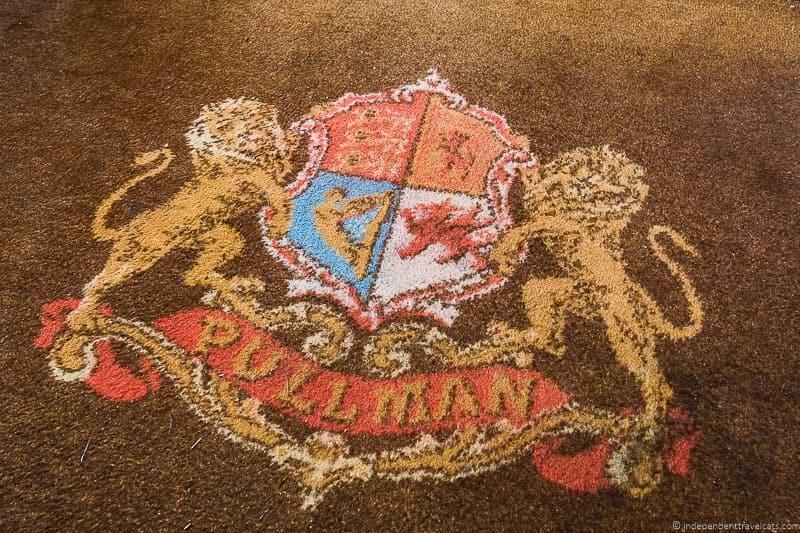 British Pullman train rug