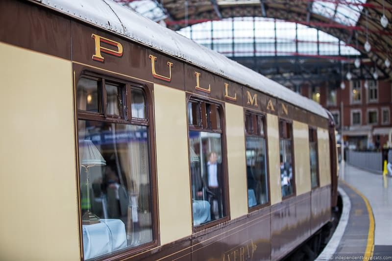 Belmond British Pullman train exterior