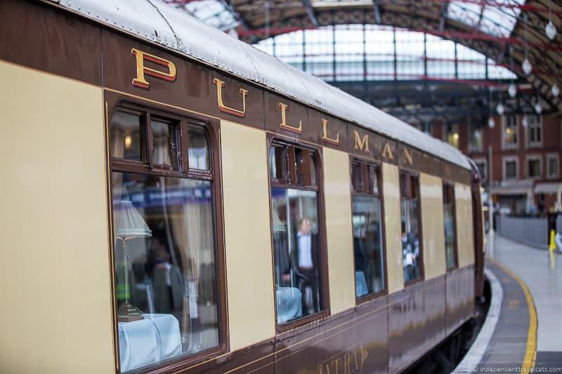 Belmond British Pullman train exterior